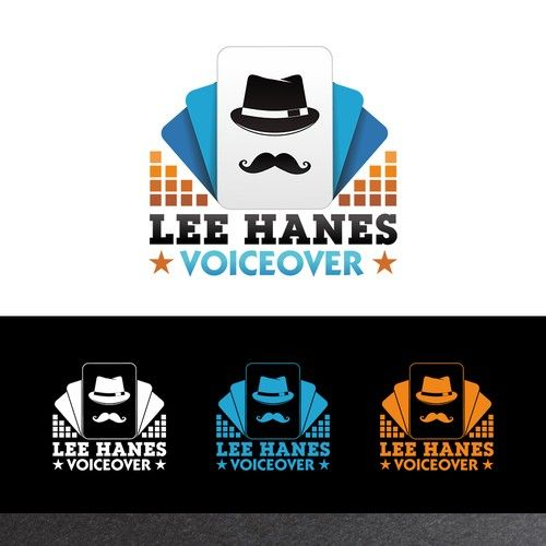 Lee Hanes Voiceover - Capture the essence of voiceover in a logo I