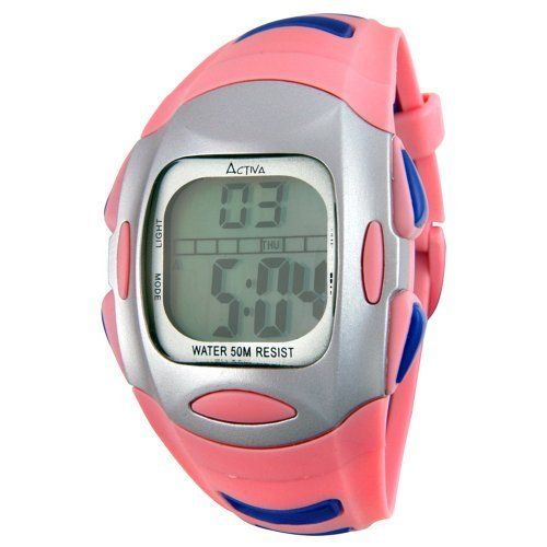 Activa By Invicta Women's AD014-005 Multi-function Digital Watch Activa By Invicta. $19.99. Water resistant depth 50 M. Quartz movement. Water-resistant to 165 feet (50 M). Back light