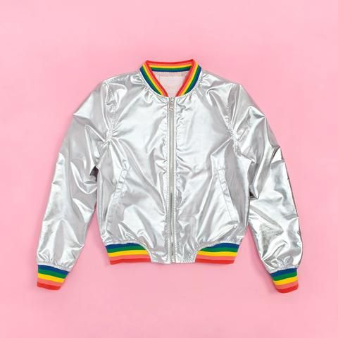 boogie daze bomber jacket: