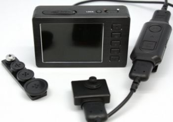 HD 1080p DVR and Covert Button Camera Kit: Here is where performance meets affordability, with this high quality HD DVR & Camera Kit which offers all the features that a Law Enforcement agent might expect out of a covert camera kit, and at a reasonably low price.#LawEnforcement #police #HD #video #camera #bodycamera #KJB