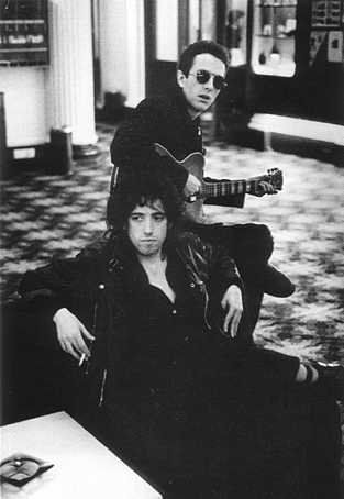 Mick Jones and Joe Strummer
