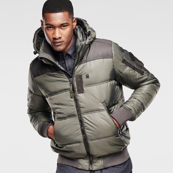 g star raw men jackets coats whistler hooded. Black Bedroom Furniture Sets. Home Design Ideas