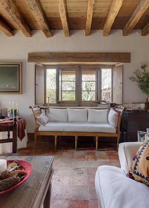 Vicky 39 s home una vieja casa de campo restaurada an old - Casa y campo decoracion ...
