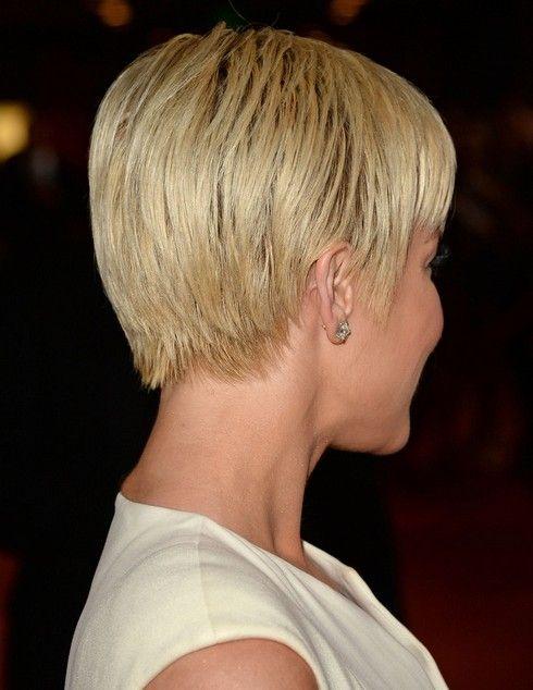 kelly pickler hair cut | Alicia Keys' Short Hairstyles: Asymmetric Smooth Short Haircut for ...