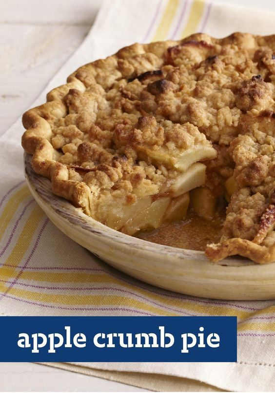 Apple Crumb Pie – Your family will know it is a special ...