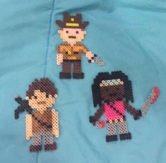 Rick, Darryl, and Michonne