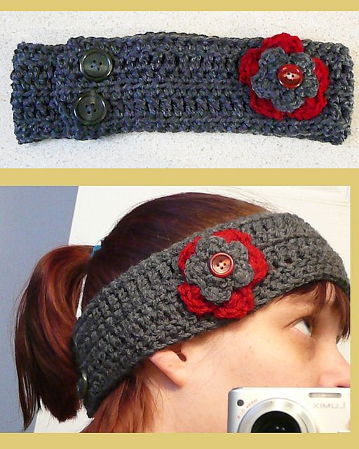 Crochet headband patterns | crochet | Pinterest | Colores, Patrones ...