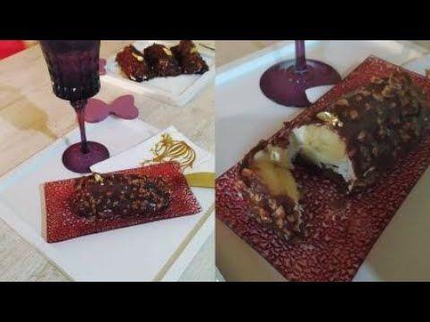 تحلية الموز بقلاصاج الفريرو روشي Banana Sweetener With Ferrero Rocher Icing Youtube Food Desserts Pudding