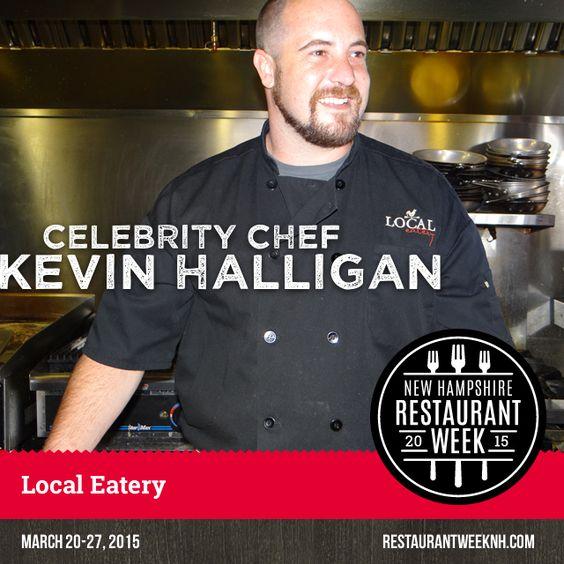 Celebrity Chef Spotlight – Kevin Halligan (Local Eatery)   Restaurant Week New Hampshire