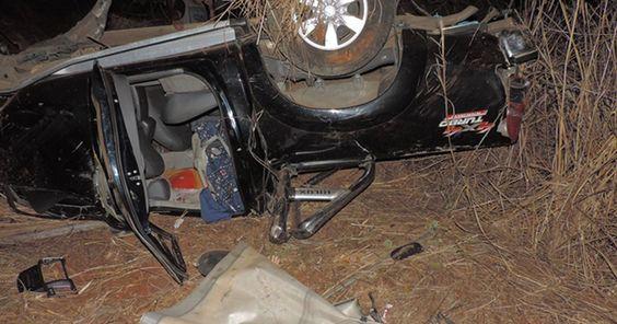 Mulher morre e bebê sai ileso de acidente com família no oeste da BA https://correroubater.blogspot.com.br/