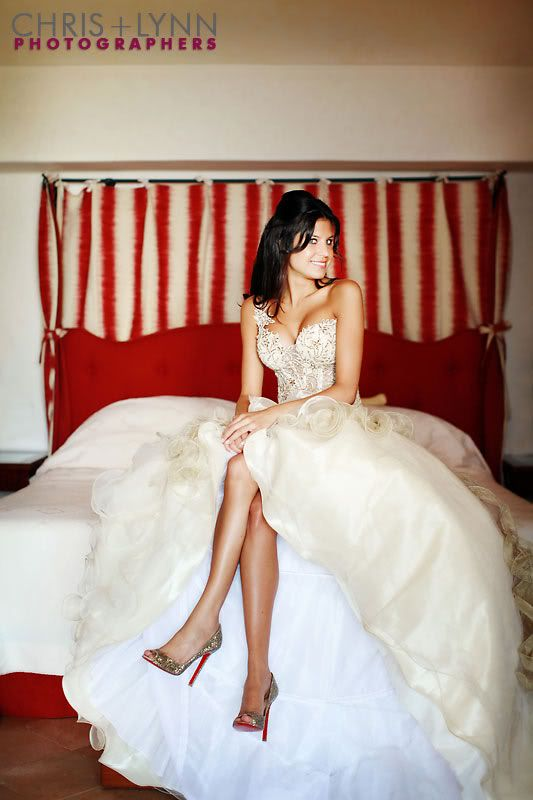 """i have loved this husband+wife photog team ever since one of my friends used them for her wedding some years back. i actually sent them a funny email a long time ago """"booking"""" my future wedding. their images are consistently amazing/gorgeous/breathtaking ... as is this bride's gown. holy cow."""