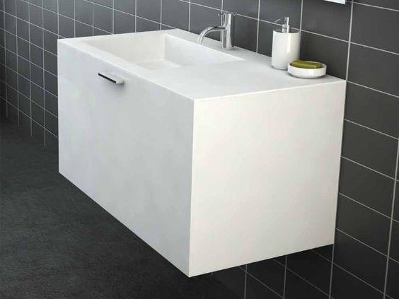 Vanity units bathroom and urban on pinterest for Bathroom designs reece