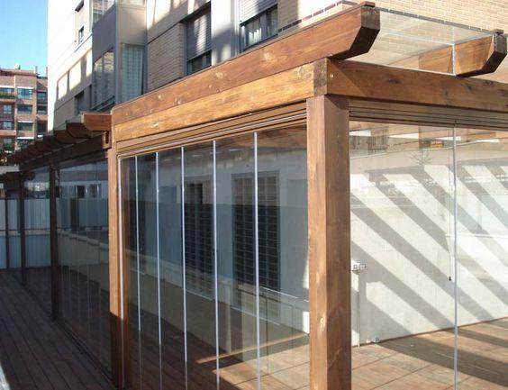 Dise o e instalaci n de cerramientos de madera para - Pergolas para jardines ...