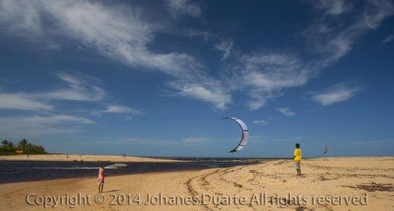 Kitesurf em Caraíva