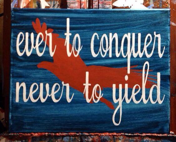 Original Auburn Painting  Ever to Conquer by PeaceLoveNCanvas, $25.00