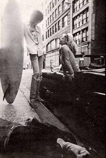 Joey Ramone and the gorgeous Debbie.