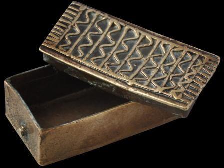 Asante/Ashanti Gold Dust Box from Ghana (18th/19th century)