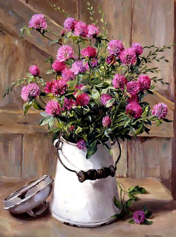 Прелестно-цветочное...Художница Anne Cotterill. Обсуждение на ...: