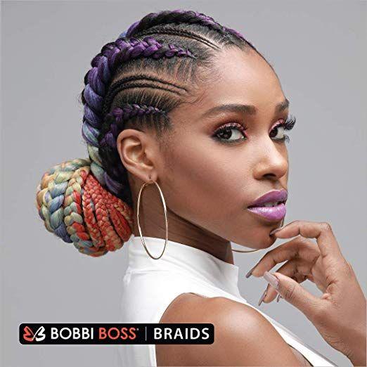 Amazon Com Bobbi Boss Just Braid Pre Feathered Braiding Hair 54