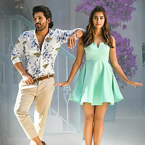 Allu Arjun And Pooja Hegde Look Smashing In Butta Bomma In 2020 Cute Couples Photography Stylish Girl Images Bollywood Actress Hot Photos