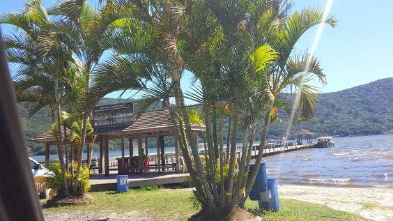 Ponto de barco para Costa da Lagoa