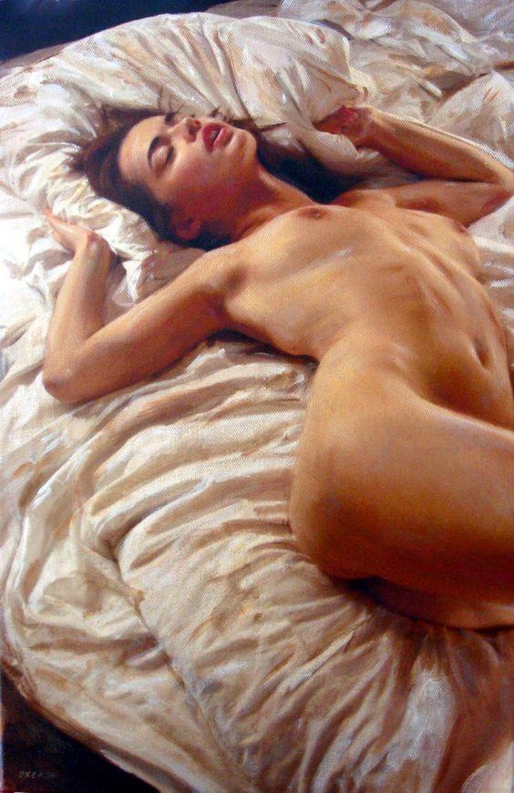 William Oxer - An Afternoon Dream (British figurative artist):