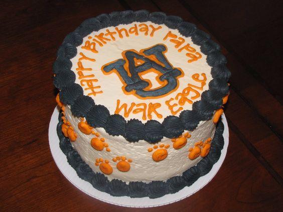 auburn birthday cake - Google Search
