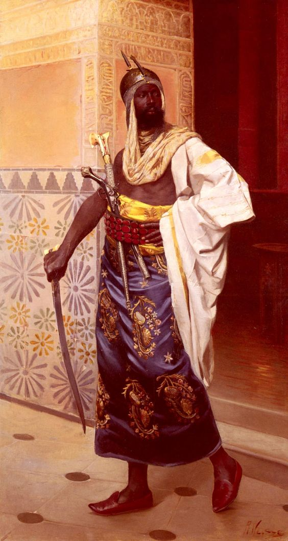 Nubian Guard by Rudolf Weisse: