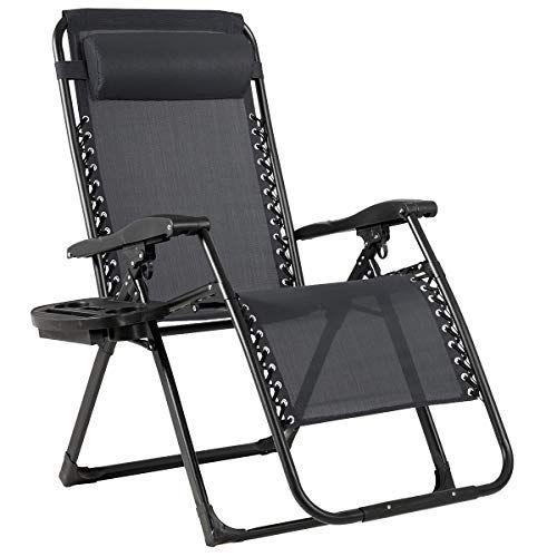 Goplus Zero Gravity Chair 500 Lb Capacity Oversized Recliner With