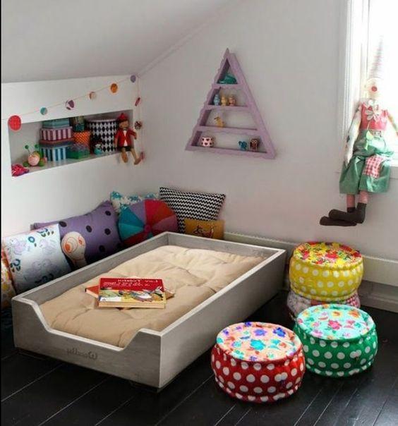 1001 Idees Pour Amenager Une Chambre Montessori Amenagement