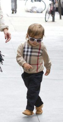 Mason Dash Disick is so cute. Check out that swag.