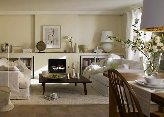 Dunkles Wohnzimmer entdeckt den Landhausstil - schoner wohnen landhausstil wohnzimmer