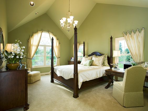 Master Bedroom of Canterbury model offered by David Cutler Group at Montgomery Walk in Montgomery Township, Montgomery County, PA.