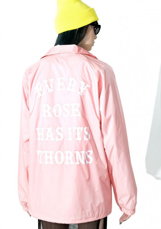 Petals and Peacocks Every Rose Coaches Jacket