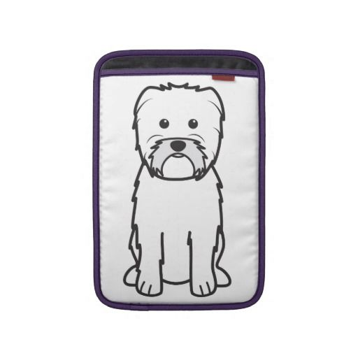 Affenpinscher Dog Cartoon Sleeve For MacBook Air