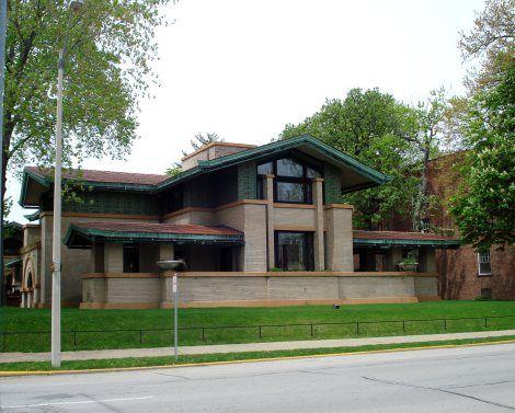 Dana House, Springfield, Illinois. 1900