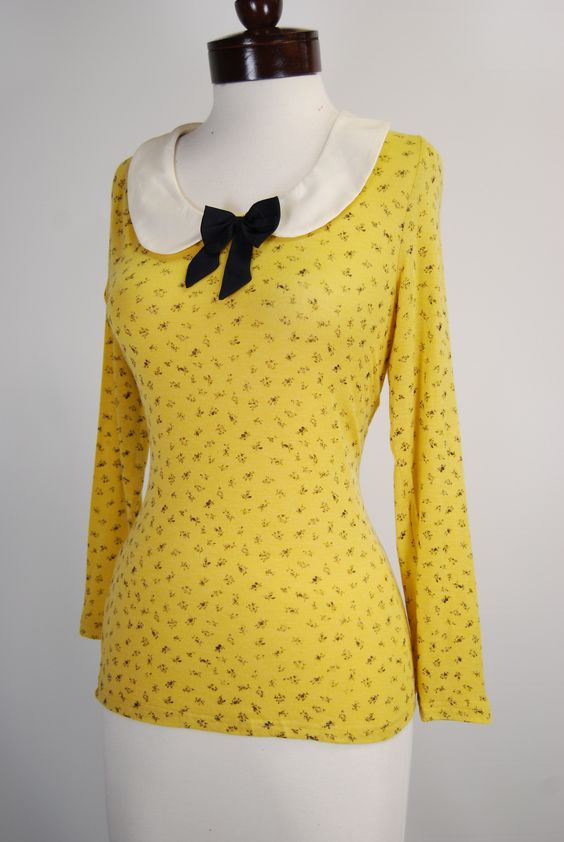 Blouses Vintage blouse and Cardigan sweaters on Pinterest