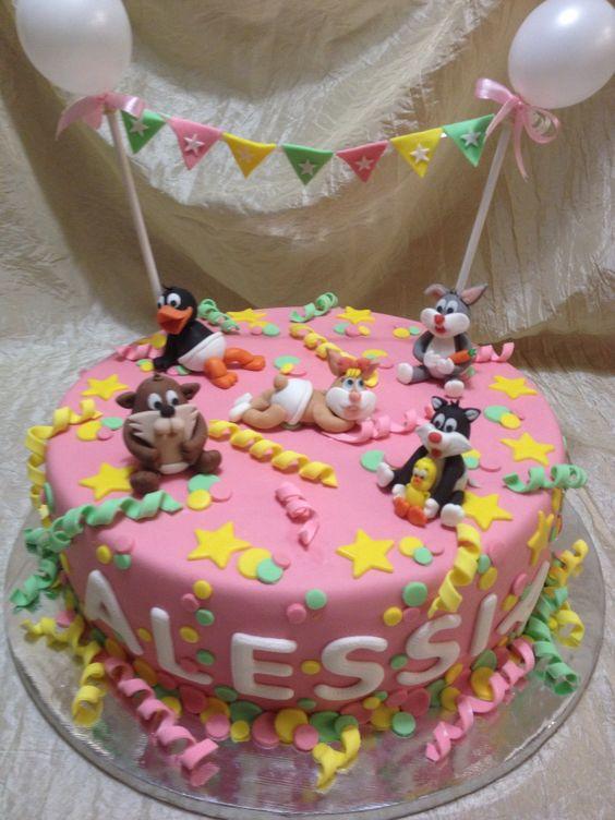 Looney toons cake