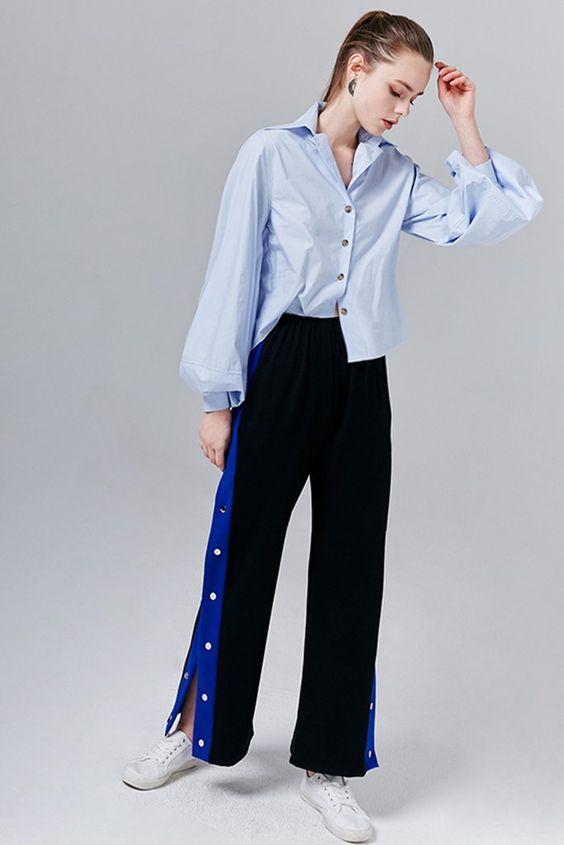 Helena Contrast Stripe Tearaway Pants #fashionista#fashionblogger #fashionblog#fashionable #fashionstyle#styleblogger#styleblog#streetstyle#streetwear #streetfashion#inspiration#trend#trendy #trends #trendalert#photooftheday #styleoftheday #stylegram #lookbook#lookoftheday #whatiwore #lovethislook #festival #ootd#ootdfashion#springlooks#swimwears