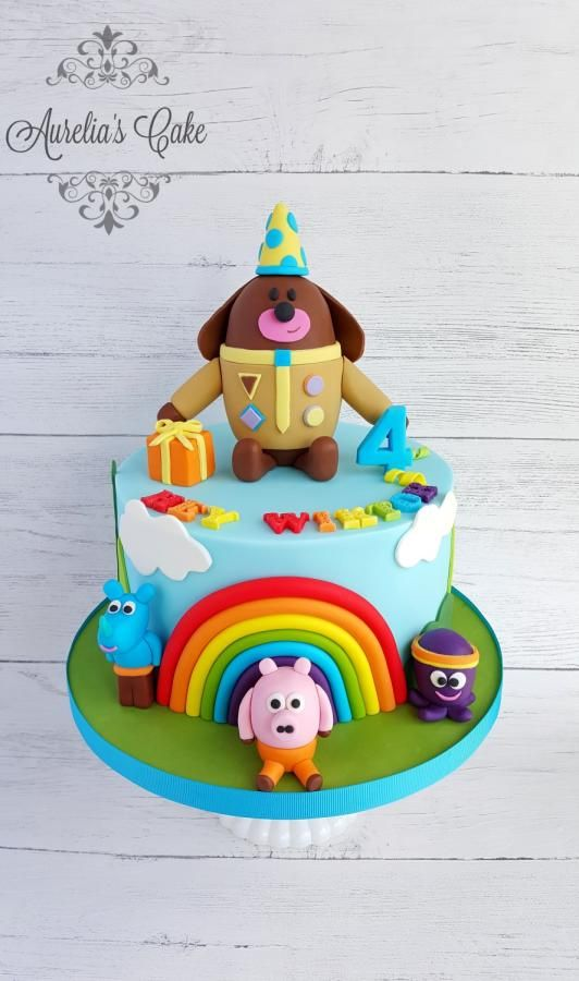 Astounding Hey Duggee By Aurelias Cake Birthday Cake Kids 1St Birthday Personalised Birthday Cards Sponlily Jamesorg