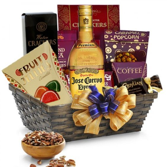 jose cuervo tequila gift basket for the classic tequila