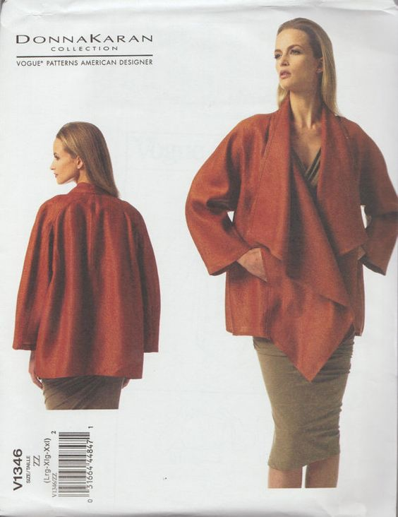 Vogue 1346 / Designer Sewing Pattern By Donna by studioGpatterns