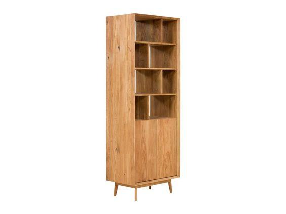 Bucherschrank Aus Eiche Massiv Trondheim Eiche Massiv Bucherschrank Regal Holz