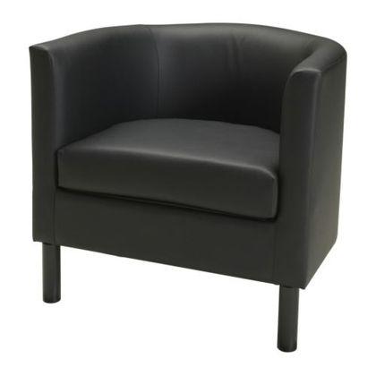SOLSTA OLARP Chair - Idhult black - IKEA - StyleSays