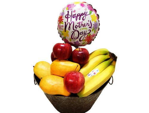 Foodesign Fresh Fruit Basket: Mothers Day Healthy Fresh Fruit Basket