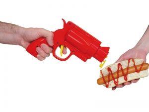 Saucen Pistole für Ketchup, Senf, etc.