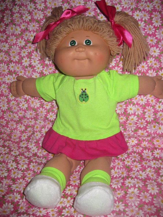 Knitting Pattern For Cabbage Patch Doll Clothes : Knit shorts, Cabbage patch and Cabbages on Pinterest