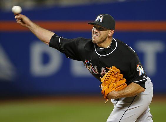 NEW YORK, NY - AUGUST 29: Pitcher Jose Fernandez