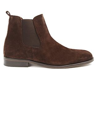ASOS Fashion Finder | Brown Suede Chelsea Boots