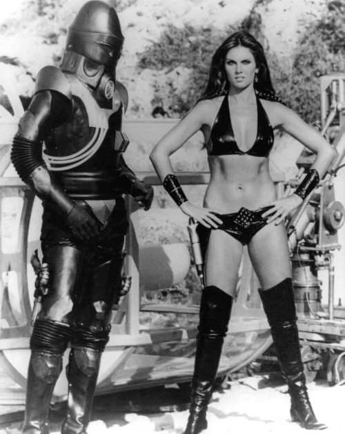 Caroline Munro as Stella Star, Starcrash (1978)